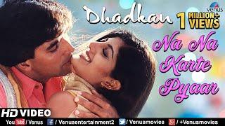 Gambar cover Na Na Karte Pyaar - HD VIDEO SONG   Akshay & Shilpa   Dhadkan   90's Bollywood Romantic Love Song