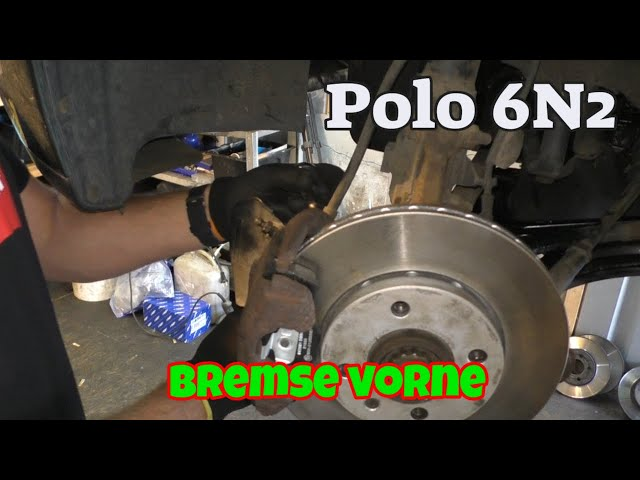 Bremsschläuche vorne wechseln - Polo 6N