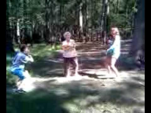 The Proposal Reinactment Scene In The Woods Youtube