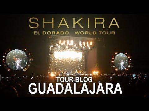 Shakira El Dorado World Tour TOUR BLOG 3GUADALAJARA14 de Octubre