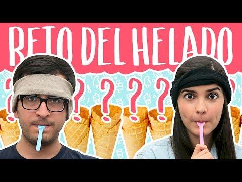Reto del HELADO: ¿de qué sabor es? – Ice Cream Challenge | Mariana Clavel