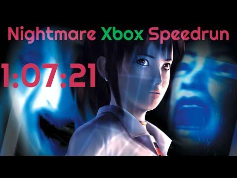Fatal Frame Nightmare Speedrun (Xbox) - [1:07:21] (Livestream Commentary)