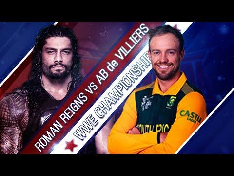 AB de Villiers VS Roman Reigns - 1-vs-1...