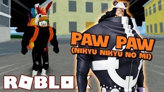 * Update 7 * Demon BEAST PAW Paw FRUIT (NIKYU NIKYU NO MI) IN BLOX PIECE (Roblox)