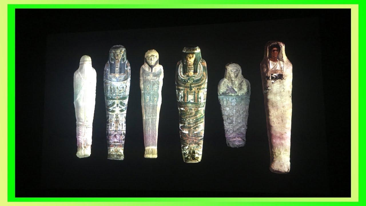 Mummy 木乃伊. 永生傳說 -- 透視古埃及文明 (香港科學館 和 大英博物館 聯合籌劃展覽) - YouTube