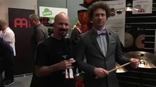Adam Anderson of Meinl at NAMM 18 on Drum Talk TV!