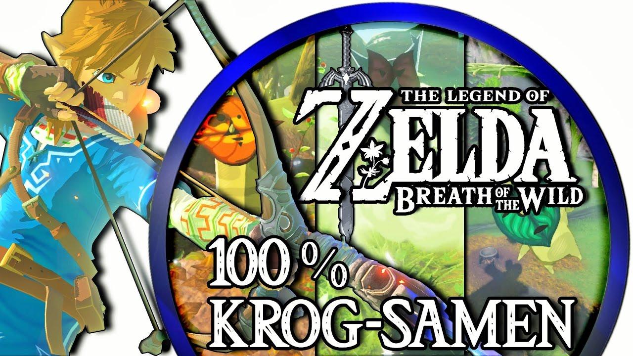 zelda breath of the wild krog samen karte Zelda Breath of the Wild ▻ 100% Krog Samen/Korok Seeds: Turm des