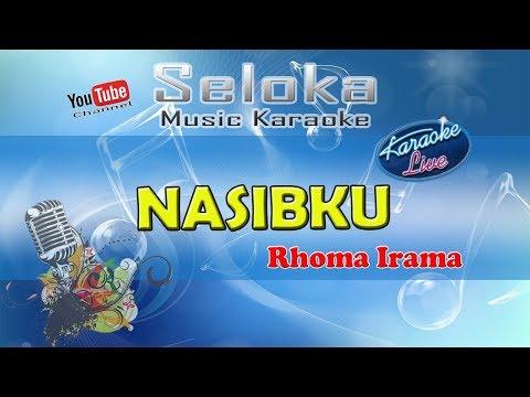 Nasibku - Rhoma Irama   Karaoke Musik Version Keyboard + Lirik Tanpa Vokal