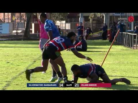 Silverwaters Barbarians vs Island Breeze | Festival State Rugby 7's Cup Final