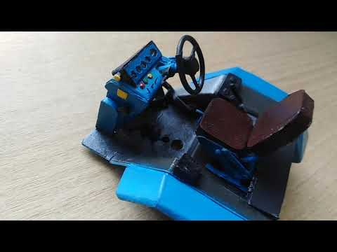 Модель трактора мтз