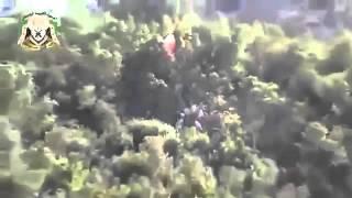 لحضه قتل الطيار الروسي وتفجير الطائر