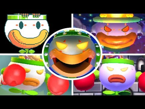 Evolution of Koopa Clown Car Battles (1990-2017)