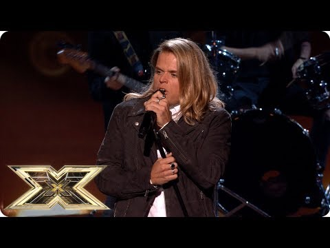 Gio Spano sings Saturday Night's Alright for Fighting | Live Shows Week 1 | The X Factor UK 2018