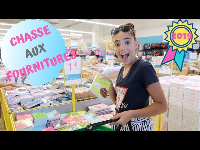 CHASSE AUX FOURNITURES SCOLAIRES 2019 - BACK  TO SCHOOL 2019 #2