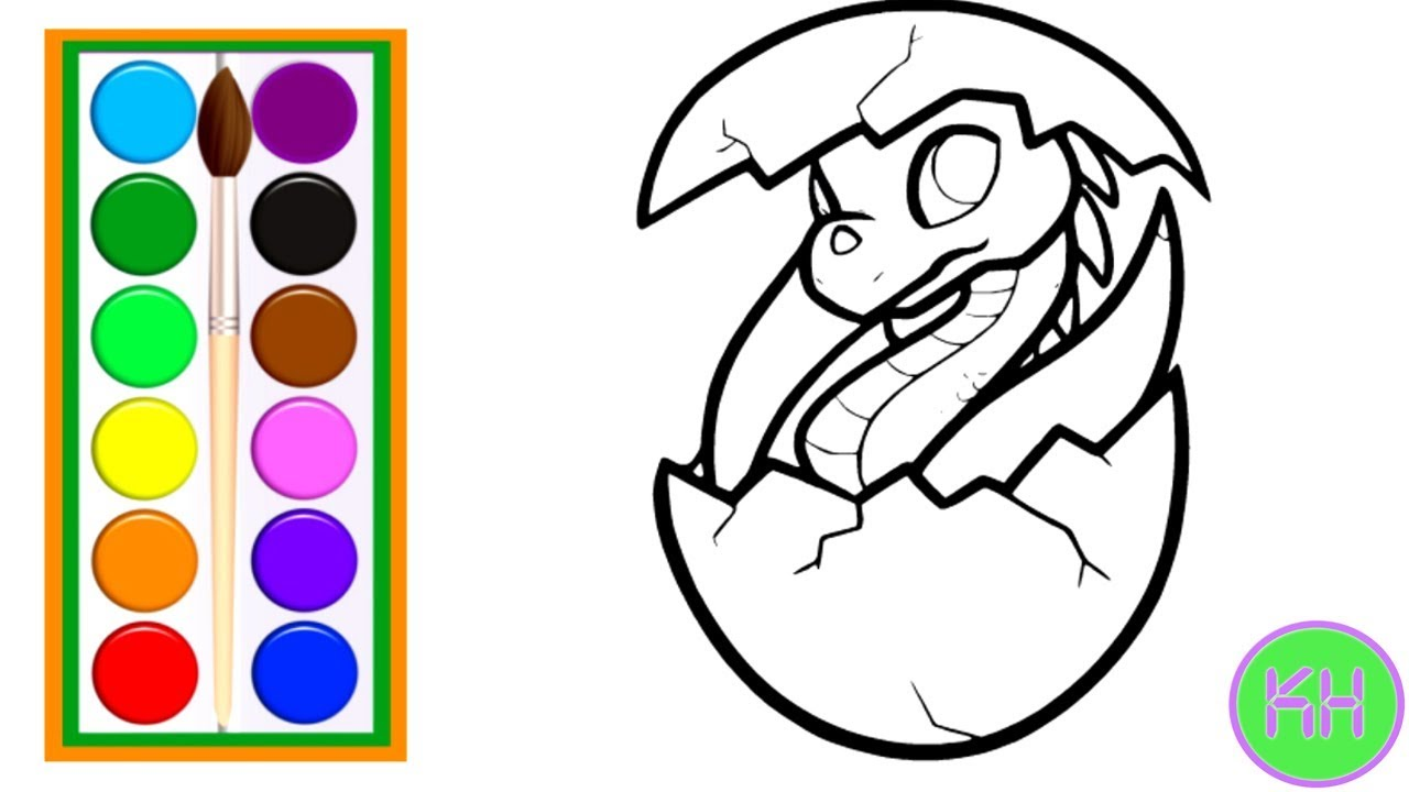 How To Draw A Dragon Egg For Kids