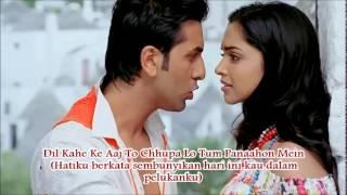 Lyrics Khuda Jaane - Bacha Ae Haseen - Ranbir Kapoor dan Deepika Padukone (Subtitle Indonesia)