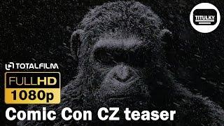 Válka o Planetu opic (2017) Comic Con CZ HD teaser