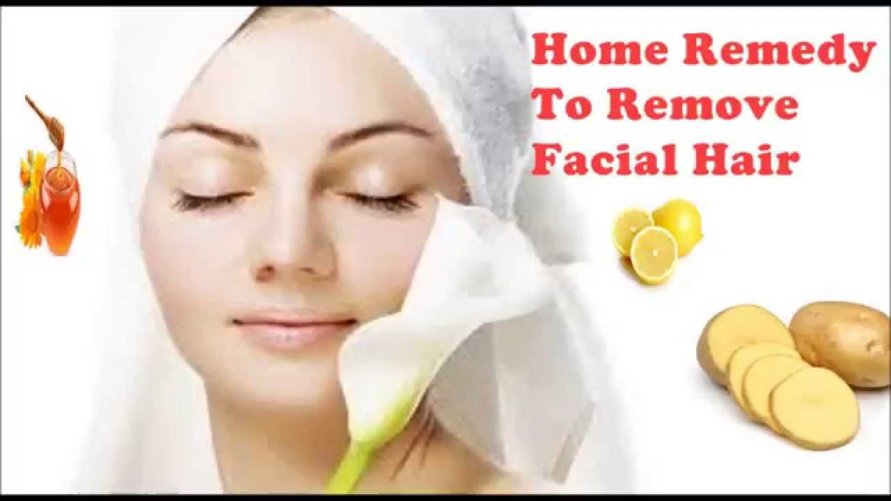 Remove hair on face om hair - Natural home ...
