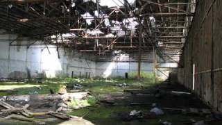 Tour to former soviet military base near Milovice, Czech Republic.wmv