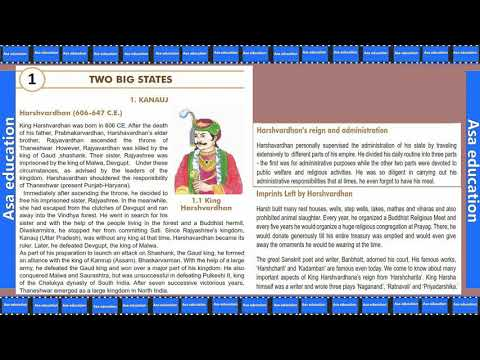 Ch 1.1 Two Big States (Social Science, Grade 7 - 1st Sem, GSEB) Easy Explanation In Hindi