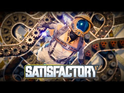 Satisfactory - A First Look At This New Game (Was Live)