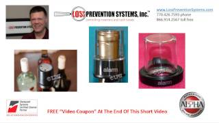 liquor and wine bottle anti shoplifting solutions