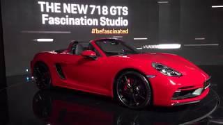 [릴라킹] 포르쉐 전통 미드십 엔진 스포츠카 718 GTS (Porsche 718 GTS)