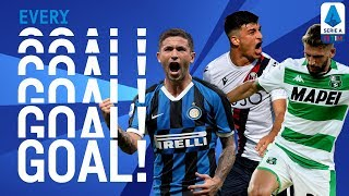 Sensi, Berardi and Orsolini in goal! | EVERY Goal Round 3 | Serie A
