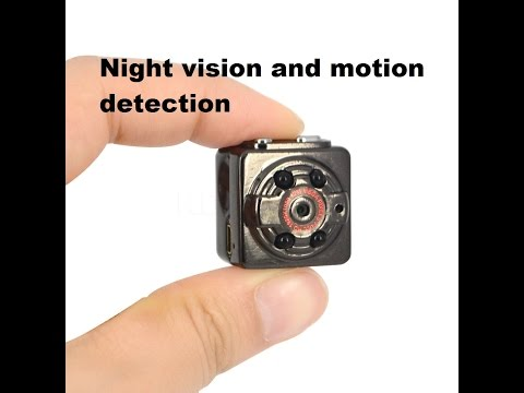 The SQ8 Mini DV Night Vision Motion Detection Camera In Depth Review And instructions