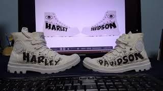 Harley Davidson Shoes Custom /…