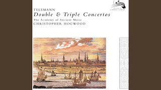 Telemann: Concerto for Flute, Oboe d'amore, Viola d'amore, Strings and Continuo in E major, TWV...