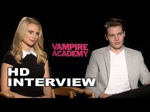 Vampire Academy: Dominc Sherwood & Lucy Fry Official Movie Interview