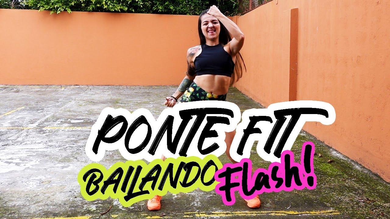 PONTE FIT BAILANDO en CASA: CLASE FLASH #6 - Fast Zumba Cardio- Natalia Vanq