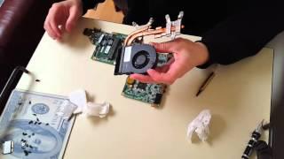 HP laptop REFLOW GPU