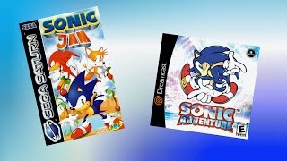 Sonic Jam - Sonic World / SA1 Similarities