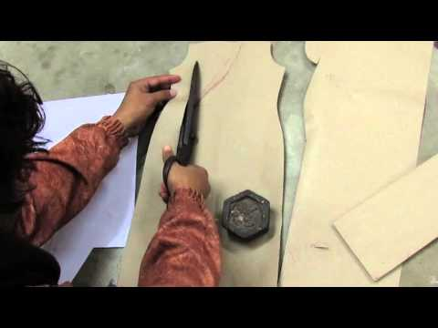 How to Make House Coat Pattern / Drafting part 2 of 2