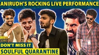 Anirudh fulfilled fans Request - Full Live Musical Video | Kanave Kanave | Enakkena - 01-04-2020 Tamil Cinema News