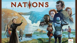 Nations the Board Game Solo Playthrough - Age of Antiquity