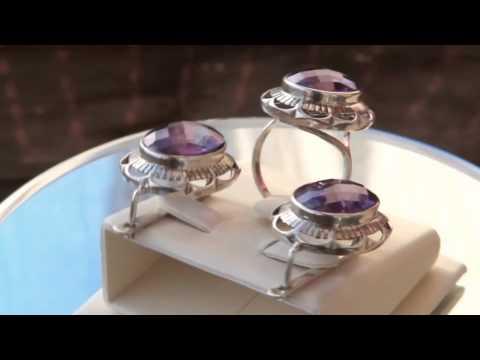 Золотые серёжки и кольцо Советского периода - Gold earrings and .