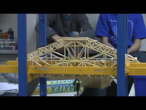 Balsa Wood Bridge: 202 Pounds
