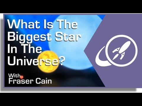 What is the Biggest Star in the Universe?