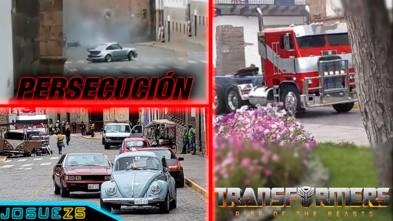 Download Persecución Autobots vs Terrorcons - Transformers 7 Rise Of The Beasts