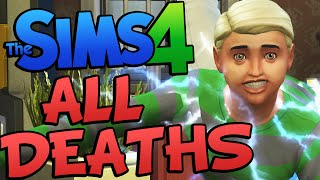 Sims 4 ALL DEATHS ! All Deaths on The Sims 4 (Sims 4 Funny Moments) #8 Thumbnail