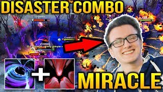 Miracle Enigma Black Hole + Shadow Fiend Disaster Combo Dota 2