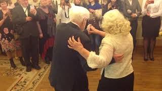 Бриллиантовая свадьба в Харькове: танец молодых