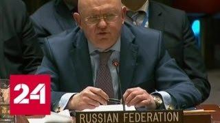Небензя сравнил покушение на Скрипаля с отравлением Литвиненко - Россия 24