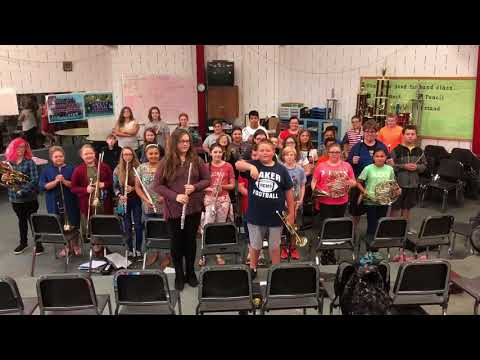 Russell county middle school band