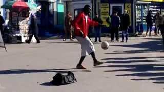 футбольный фристайл в Москве