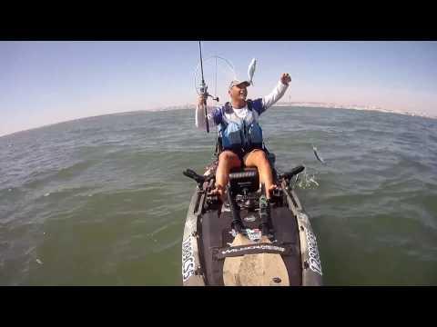 Pesca de Kayak com motor eletrico