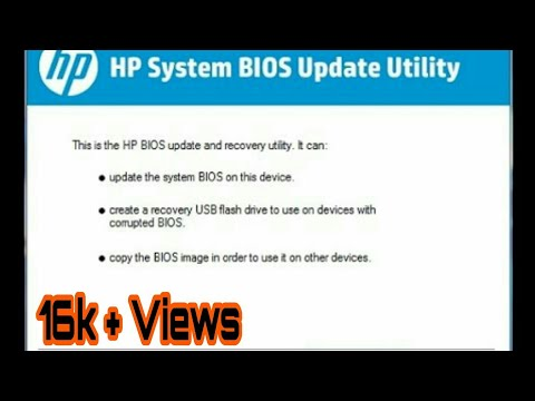 How Extract Latest Hp Laptops Bios Exe And Get Bios  Bin File
